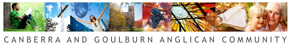 Image for the Canberra and Goulburn Anglican Community