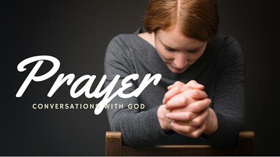 Image of someone praying